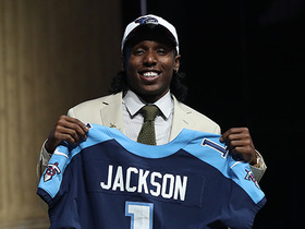 Watch: Titans select Adoree' Jackson No. 18 overall in the 2017 NFL Draft