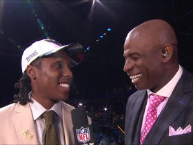Watch: Adoree' Jackson: 'I'm thankful right now'