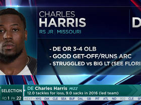Watch: Dolphins select Charles Harris No. 22 in the 2017 NFL Draft