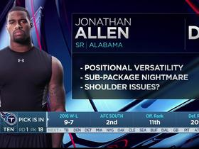 Watch: Mayock: Jonathan Allen's a versatile defensive end