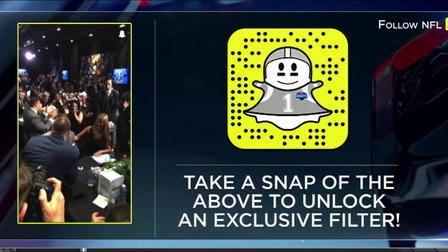 Check out the NFL Exclusive Snapchat filter - NFL Videos