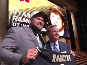 Watch: Saints select Ryan Ramczyk No. 32 in the 2017 NFL Draft