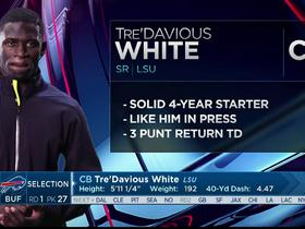 Watch: Mayock: Tre'Davious White 'is a competitor'
