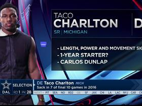 Watch: Mayock: Taco Charlton has length, power and movement skills