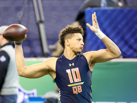 Watch: Casserly: Mahomes has the most arm talent of the QBs drafted