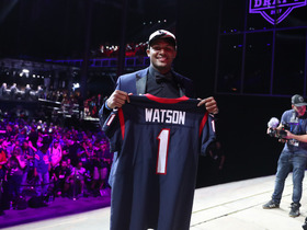 Watch: Palmer: Texans loved the off field character of DeShaun Watson