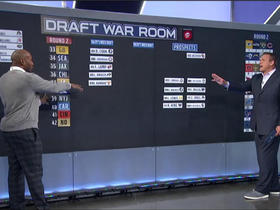 Watch: Brian Baldinger's Mock Draft: Day 2