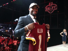 Watch: Draft Diaries: Jonathan Allen's emotional draft day experience