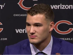 Watch: Trubisky: I'm really excited to be here in Chicago and get started