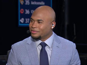 Watch: Steve Smith Sr. discusses his favorite pick in Round 1