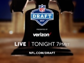Watch: 2017 NFL Draft continues tonight 7pm ET