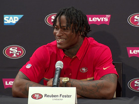 Watch: Reuben Foster hung up on Saints when 49ers called