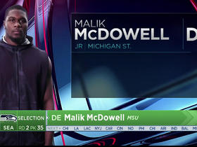 Watch: Jacob Green announces Seahawks' selection of Malik McDowel No. 35 in the 2017 NFL Draft