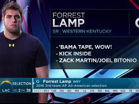 Watch: Mayock: Forrest Lamp will make an immediate impact on the inside