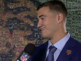 Watch: Trubisky: The Bears 'kept it quiet and secret that they were interested in me'