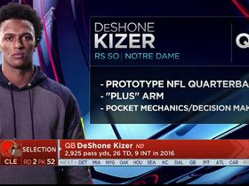 Watch: Mayock: DeShone Kizer's 'got all the physical traits'