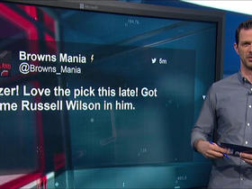 Watch: Social media reacts to the Browns' selections