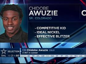 Watch: Mayock: Chidobe Awuzie has competitiveness and toughness