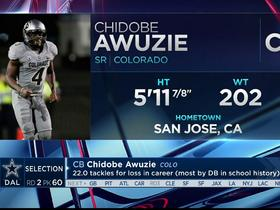 Watch: Cowboys select Chidobe Awuzie No. 60 in the 2017 NFL Draft