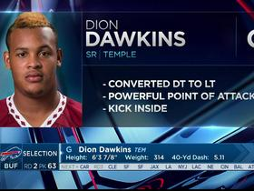 Watch: Bills select Dion Dawkins No. 63 in the 2017 NFL Draft