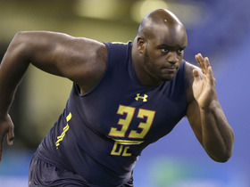 Watch: Panthers select Taylor Moton No. 64 in the 2017 NFL Draft