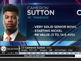 Watch: Steelers select Cameron Sutton No. 94 in the 2017 NFL Draft