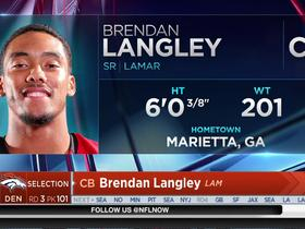 Watch: Broncos select Brendan Langley No. 101 in the 2017 NFL Draft