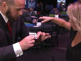 Watch: Jon Dorenbos works his magic on Collen Wolfe