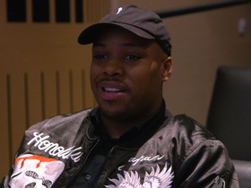 Watch: Jeremy Hill and Dave Grunfeld play game of Madden at NFL Networks