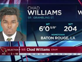 Watch: Chad Williams selected with pick No. 98 in the 2017 NFL Draft