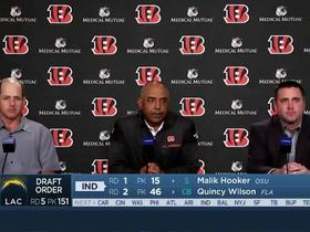 Watch: Marvin Lewis gives his take on the selection of Joe Mixon