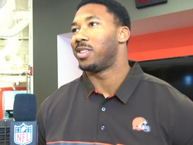 Watch: Garrett: 'Can't wait to do big things' in Cleveland