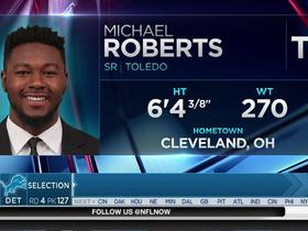 Watch: Lions select Michael Roberts No. 127 in the 2017 NFL Draft