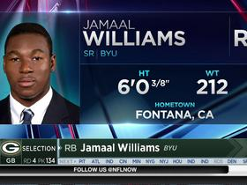 Watch: Packers select Jamaal Williams No. 134 in the 2017 NFL Draft