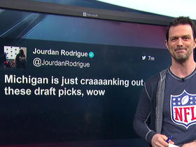 Watch: Michigan and Alabama crank out draft picks