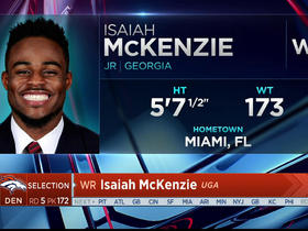 Watch: Broncos select Isaiah McKenzie No. 173 in the 2017 NFL Draft