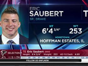 Watch: Falcons select Eric Saubert No. 174 in the 2017 NFL Draft