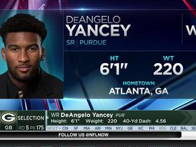 Watch: Packers select DeAngelo Yancey No. 175 in the 2017 NFL Draft
