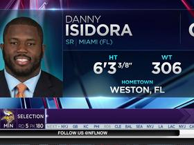 Watch: Vikings select Danny Isidora No. 180 in the 2017 NFL Draft