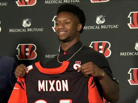 Watch: Mixon: I'm not trying to prove anybody wrong