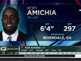 Watch: Packers select Kofi Amichia No. 212 in the 2017 NFL Draft