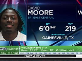 Watch: Seahawks select David Moore No. 226 in the 2017 NFL Draft