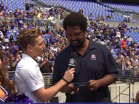 Watch: Jonathan Ogden announces No. 122 pick