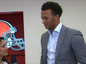 Watch: Kizer: I'm looking forward to the coaches giving me the right tools