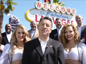 Watch: Governor of Nevada announces No. 129 pick