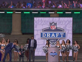 Watch: Philadelphia Eagles fans announce No. 132 pick