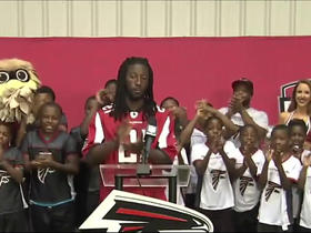 Watch: Desmond Trufant announces the No. 136 pick