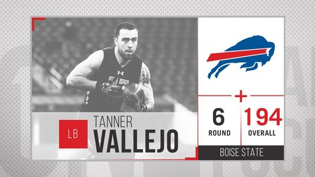 Tanner Vallejo Hard To Put In To Words Nfl Videos