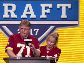 Watch: Redskins season ticket holders announce No. 209 pick
