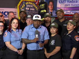 Watch: EMS from Fire Station 26 announce No. 181 pick